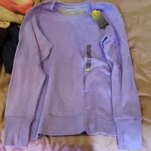 Womans large purple kohl's sweat shirt